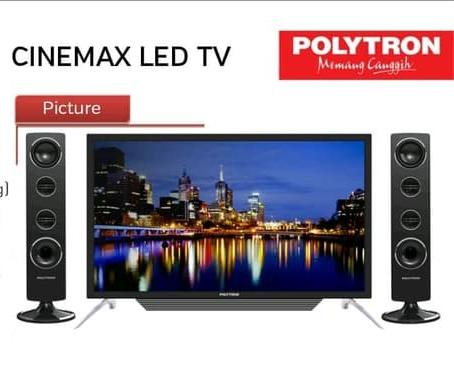 LED TV 32INCHI POLYTRON PLD-32T1550 TOWER SPEAKER