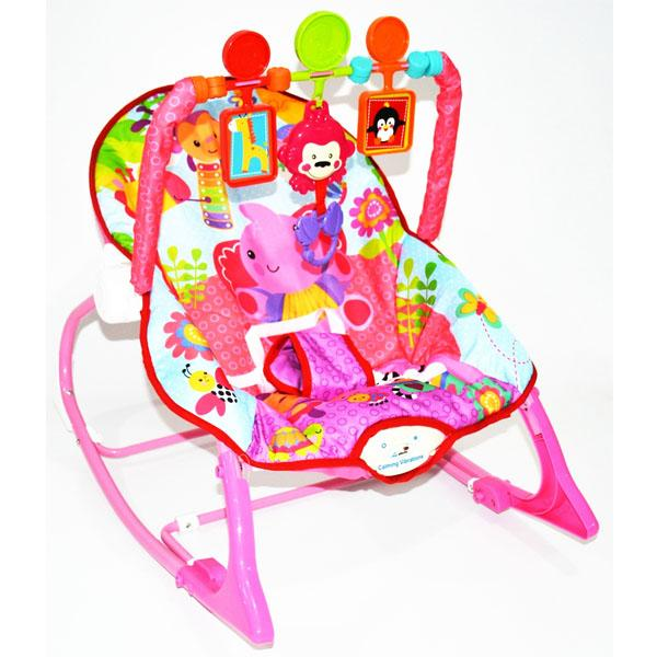 AA Toys Labeille Rocker Infant To Toddler Baby Bouncer Motif - Tempat Duduk Santai Bayi /
