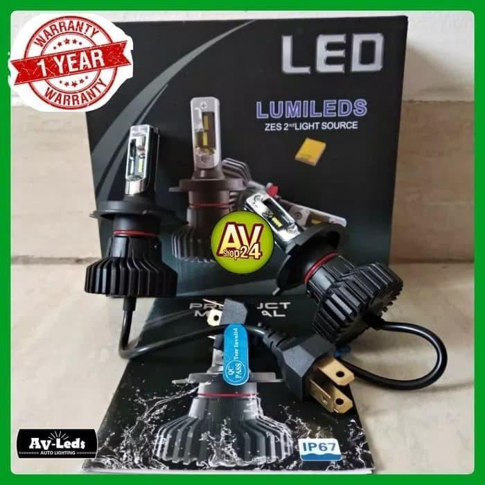 Best Seller Lampu Led Mobil H4 Lumileds 2nd Gen Luxeon ZES X5 Hi-Low