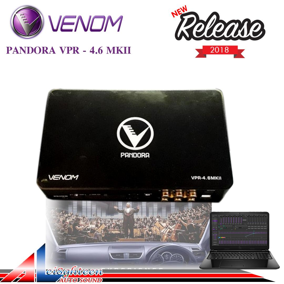 New Venom Pandora VPR - 4.6 MKII Power 6 Ch Processor 8Ch - Release 2018