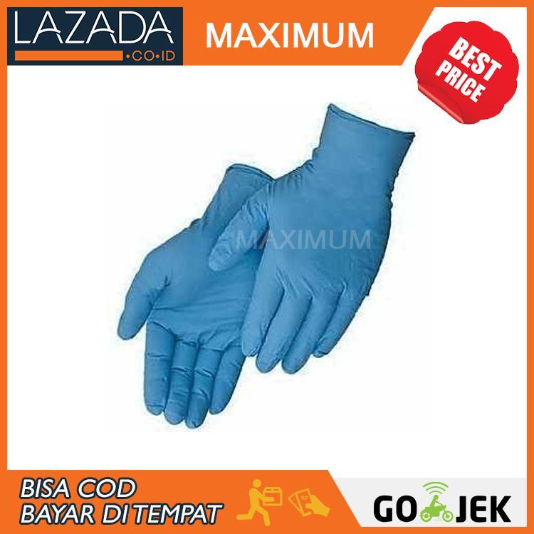 Sarung Tangan Nitrile Examination Gloves .