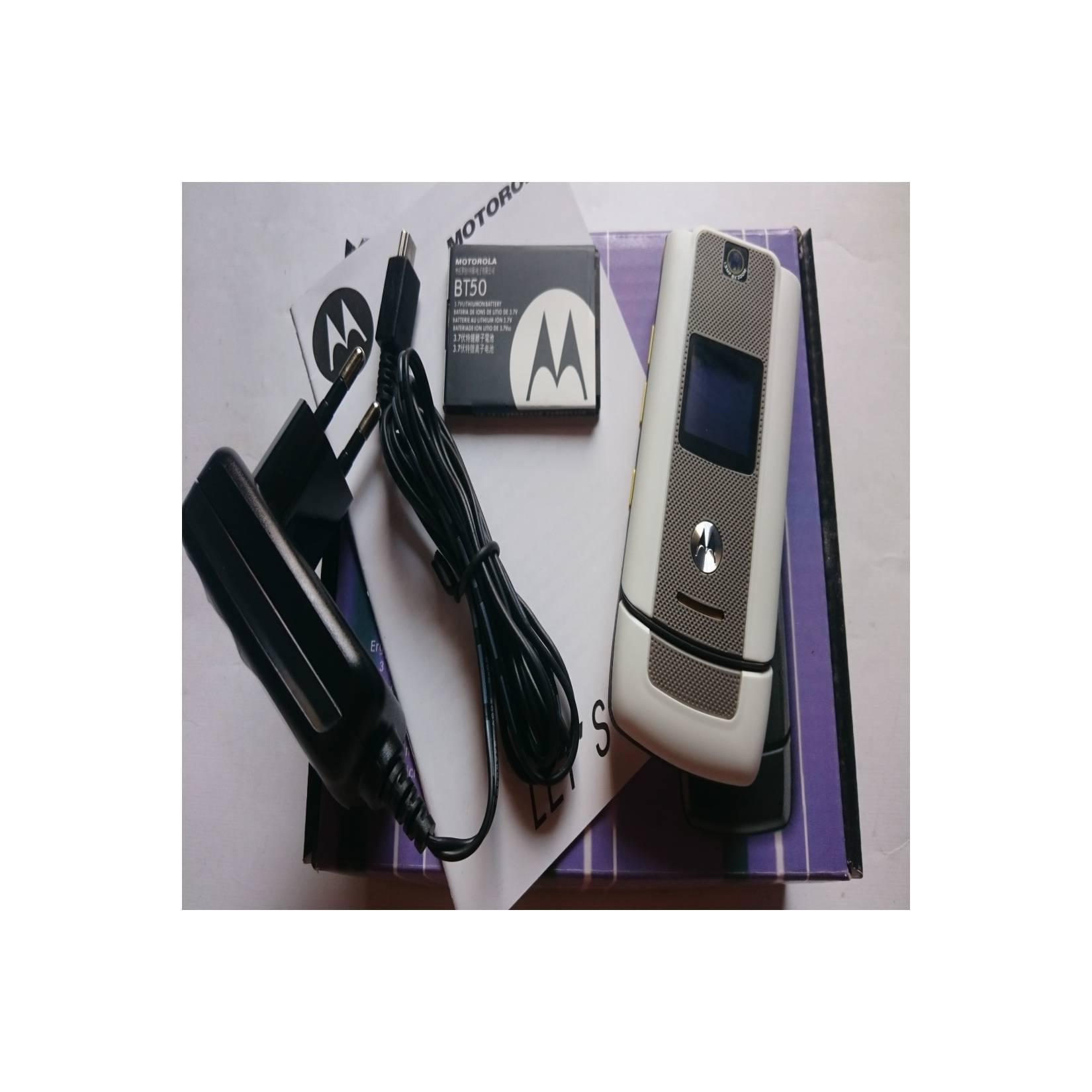 Motorola W510 Moto Flip Putih - Yellow Ferrari - HP Jadul Original