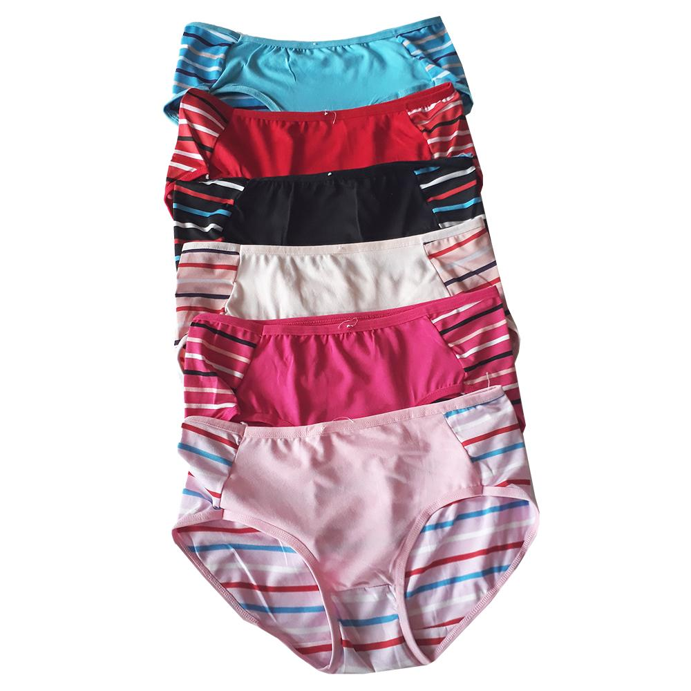 Aily Celana Dalam Wanita Soft Satin Lembut Set 6pcs 8818 Multicolor Ab15 Katun Nyaman 6 Pcs Multicoloridr40000 Rp 40000