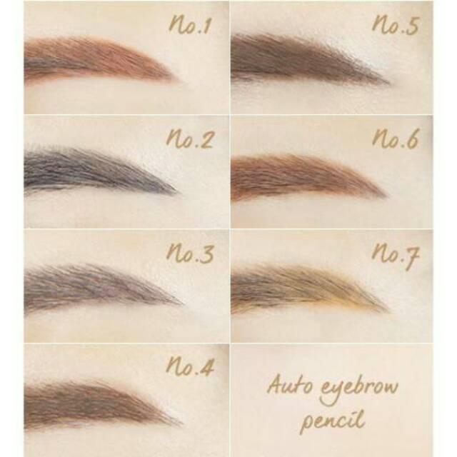 INNISFREE Auto Eyebrow Pencil / Pensil Alis Matte/ Pensil Make Up Artis/ Pensil Eyebrow High Qualit