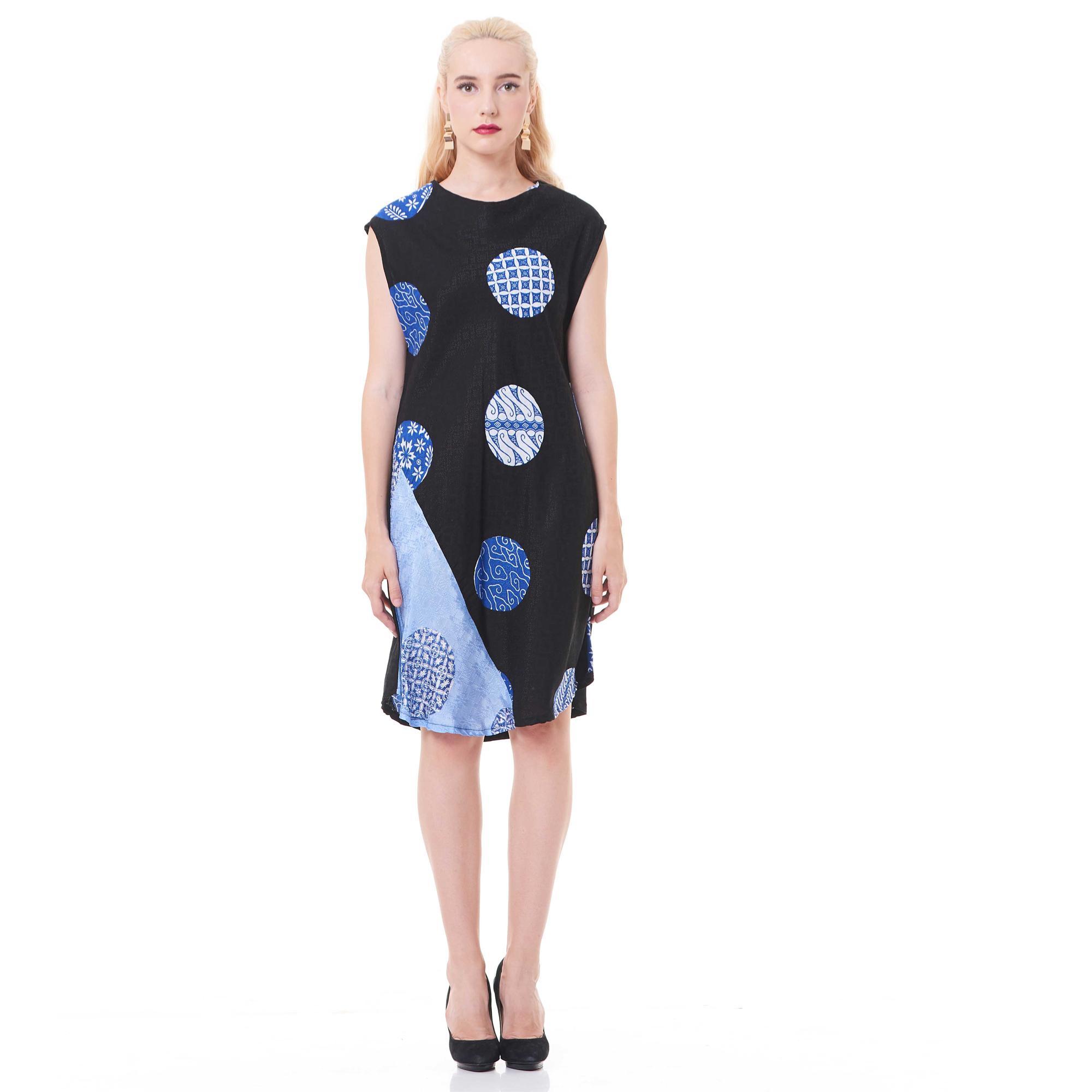 Dress Batik Viscose Selampad Cirebon