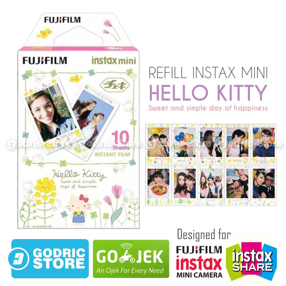 Fujifilm Refill Instax Mini Film Hello Kitty Lovely Flower - 10 Lembar