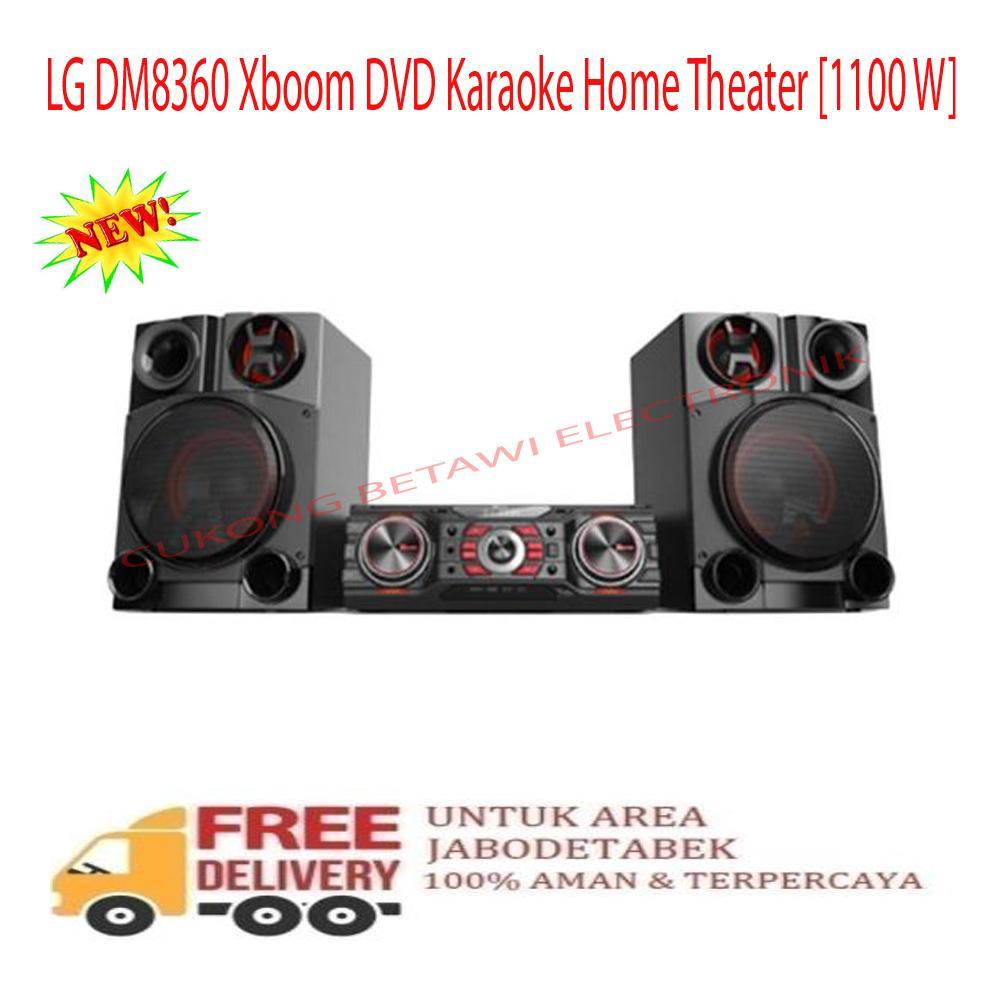 LG DM-8360 Xboom DVD Karaoke Home Theater [1100 W]-KHUSUS JABODETABEK