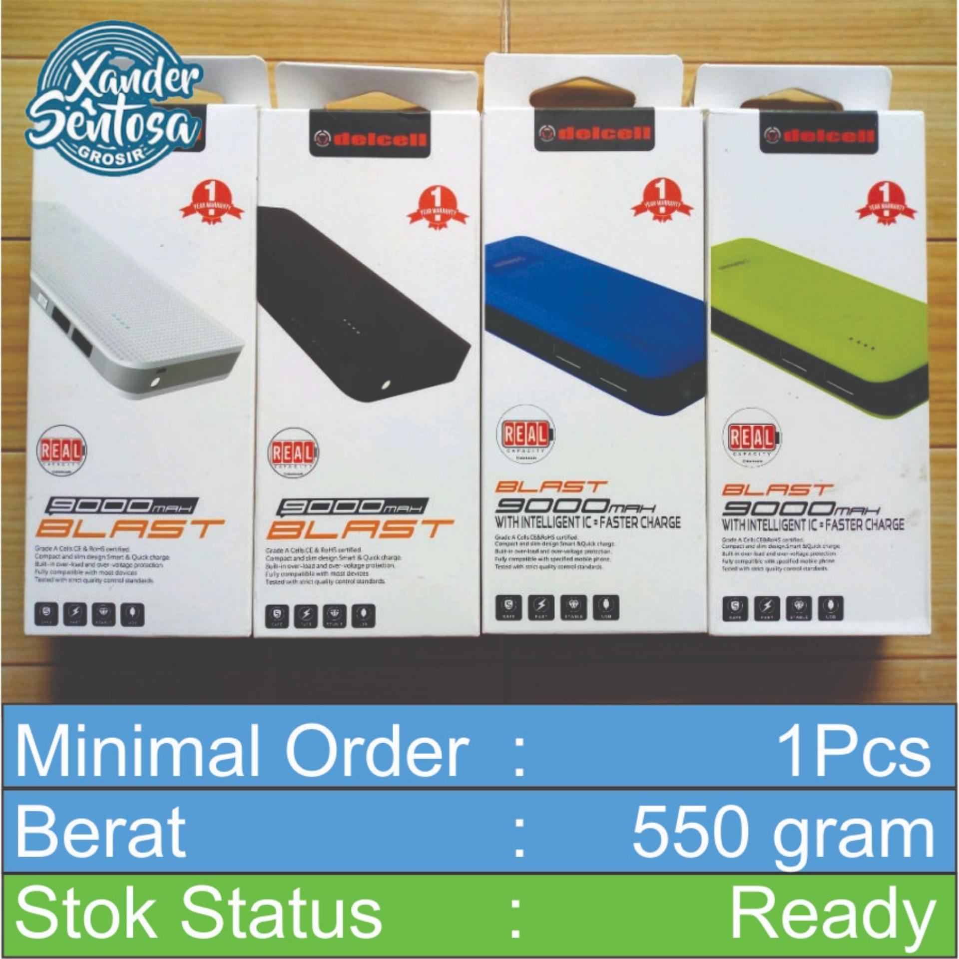 Power Bank DelCell Blast 9000MAH Real Capacity