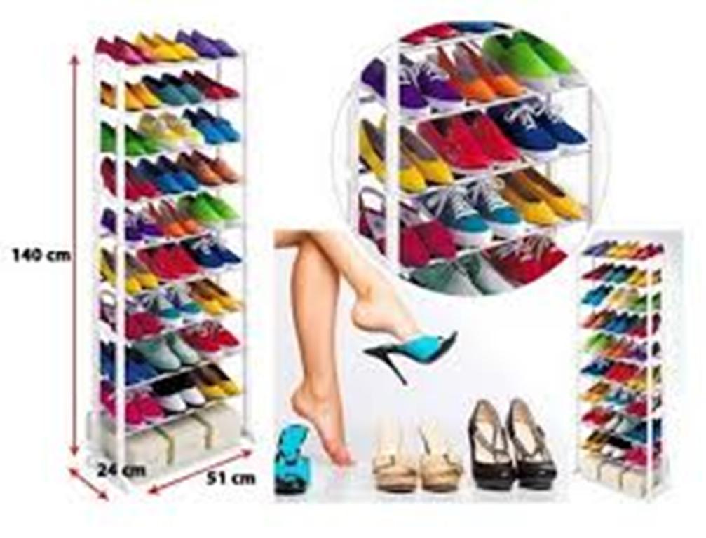 Sien Collection Amazing Shoes Rack Rak Sepatu Lipat Shoes Organiser As Seen on TV Unik