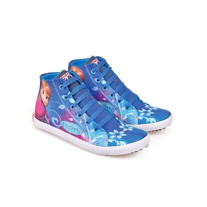 Sepatu Anak Perempuan / Sepatu Casual Anak Motif FROZEN / Sepatu Sekolah Anak Prempuan Cewek / Sepatu Harian Anak Prempuan Wanita Cewek / Sepatu Anak Terbaru Murah CNC 408