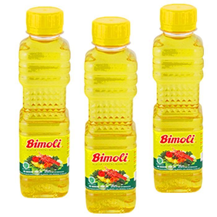Bimoli Minyak Goreng Bermutu Botol 1L Makanan Nagada Lezat
