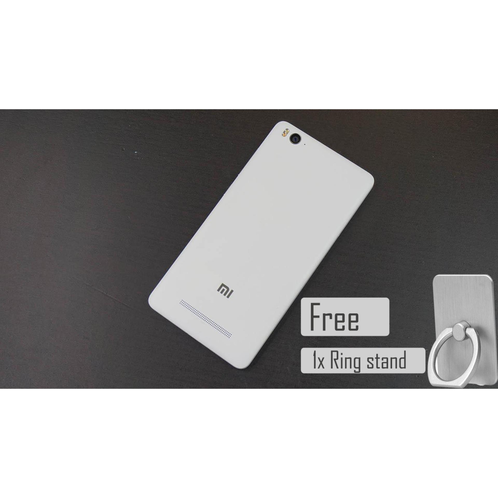 Backdoor Backcover Back Cover Xiaomi Mi4i Tutup Belakang free ring stand
