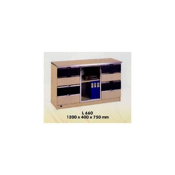 Credenza / Lemari Arsip Kantor Aditech L 660