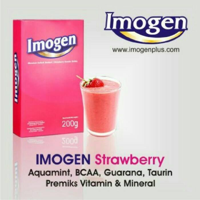 Imogen Strawberry Gluco Antioxidant Cantik Sehat Nulife Gluthatione