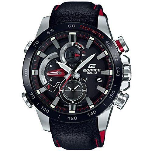 CASIO watch edifice RACE LAP CHRONOGRAPH smartphone link model EQB-800BL-1AJF Men's