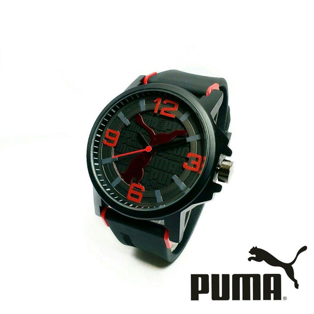 Jam Tangan Fashion Pria Sporty Analog Puma Murah Meriah