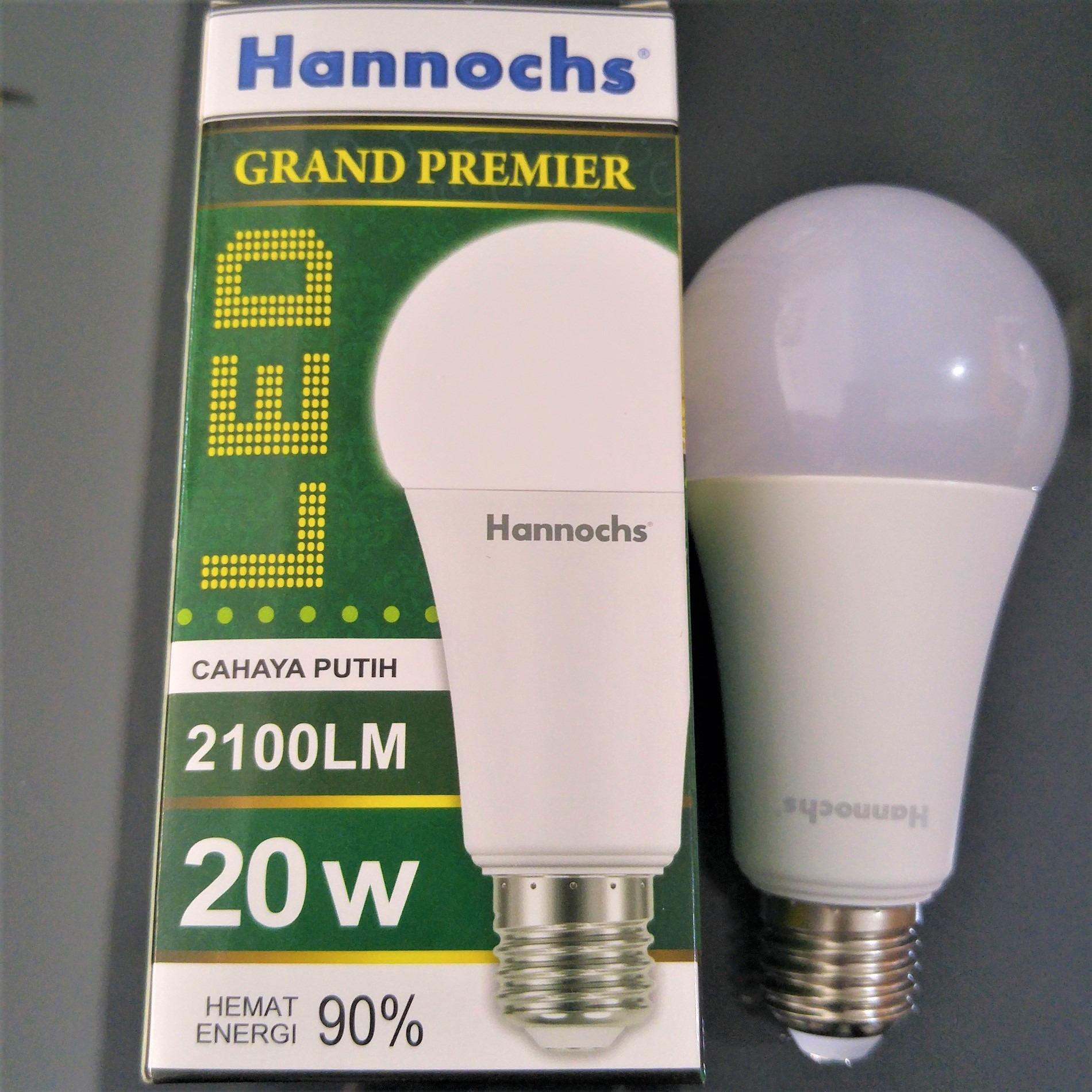 Buy Sell Cheapest Hannochs Grand Premier Best Quality Product Lampu Led 3 Watt Bola 20w