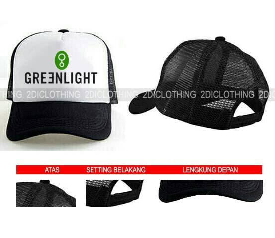 Hot Item!! Topi Distro Greenlight Keren - ready stock