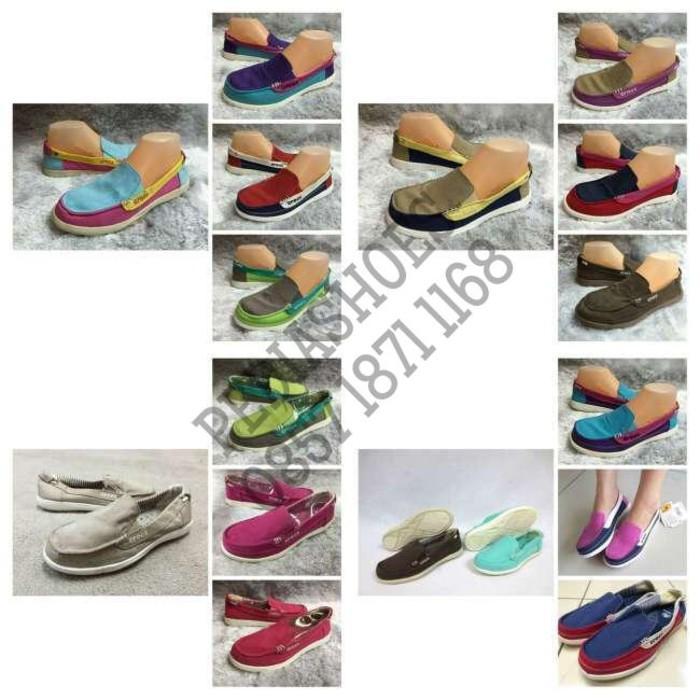 Promo (GARANSI TERMURAH) Sepatu Casual Wanita Crocs Walu Women Original Gratis Ongkir