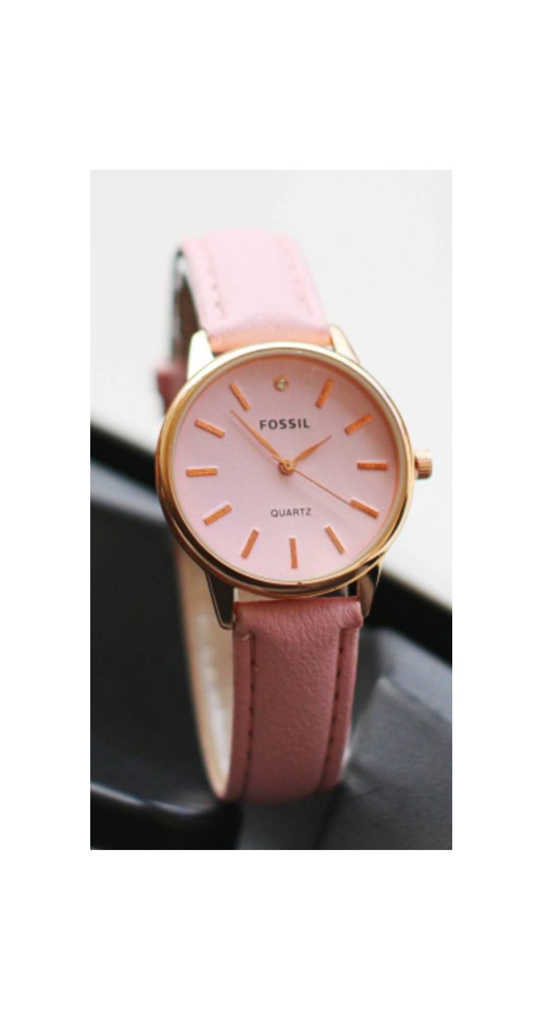 jam tangan fossil wanita gaya fashion kw premium murah elegan branded