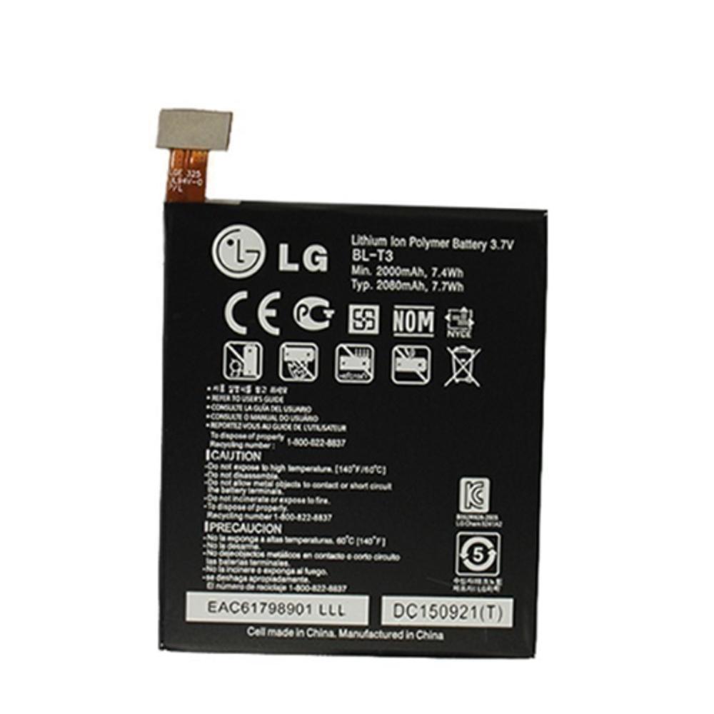 LG BL-T3 Original Battery For LG Optimus VU Or LG C920 - 2000 Mah