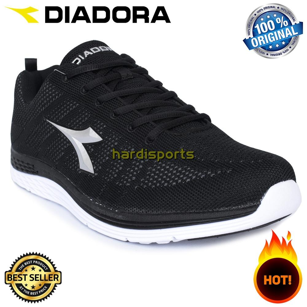 Sepatu Running Sneaker Pria Diadora Clemento VI (M) DIAFI71207BK - Black 4c896ef801
