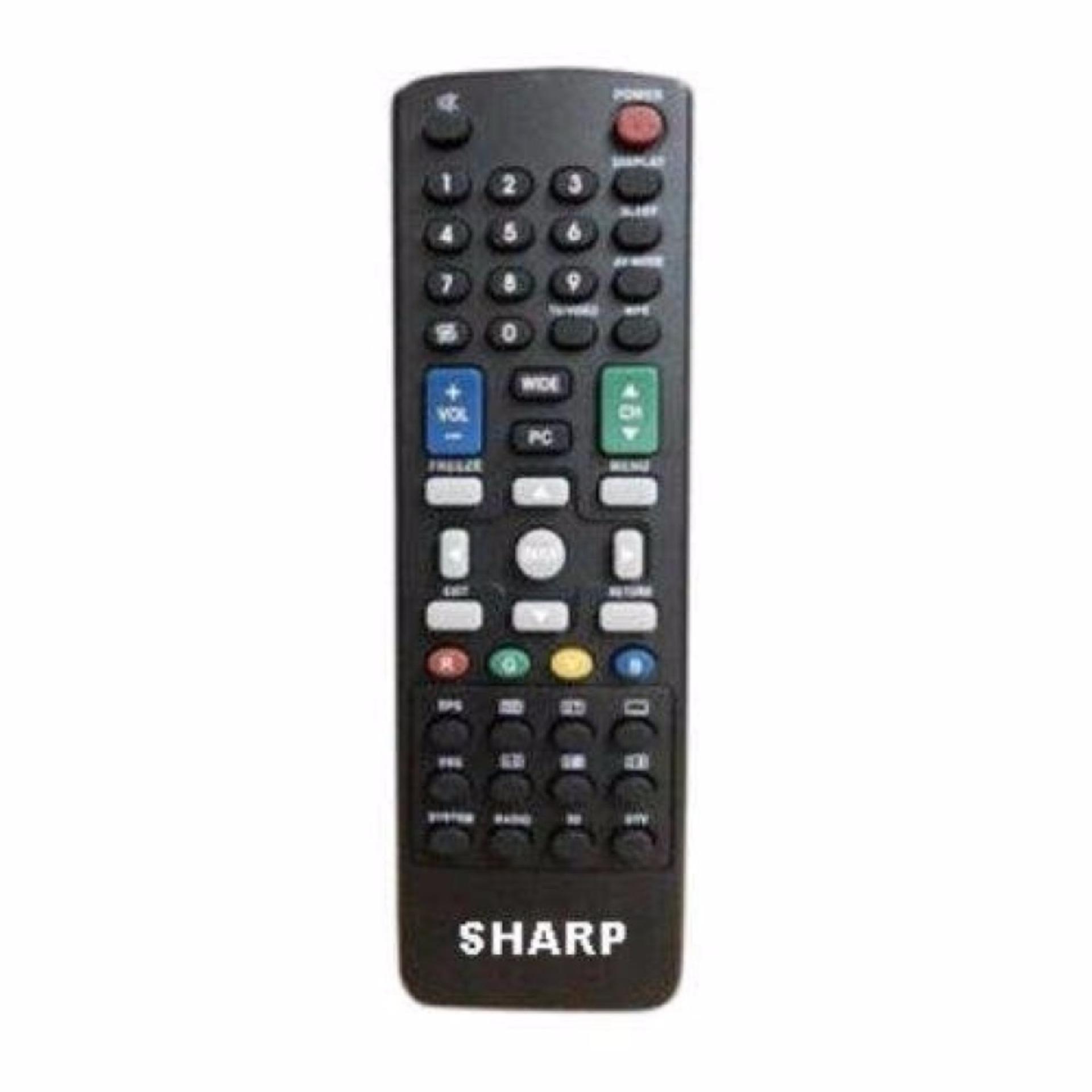Sharp Remote LCD/LED Cocok Untuk Semua TV LED