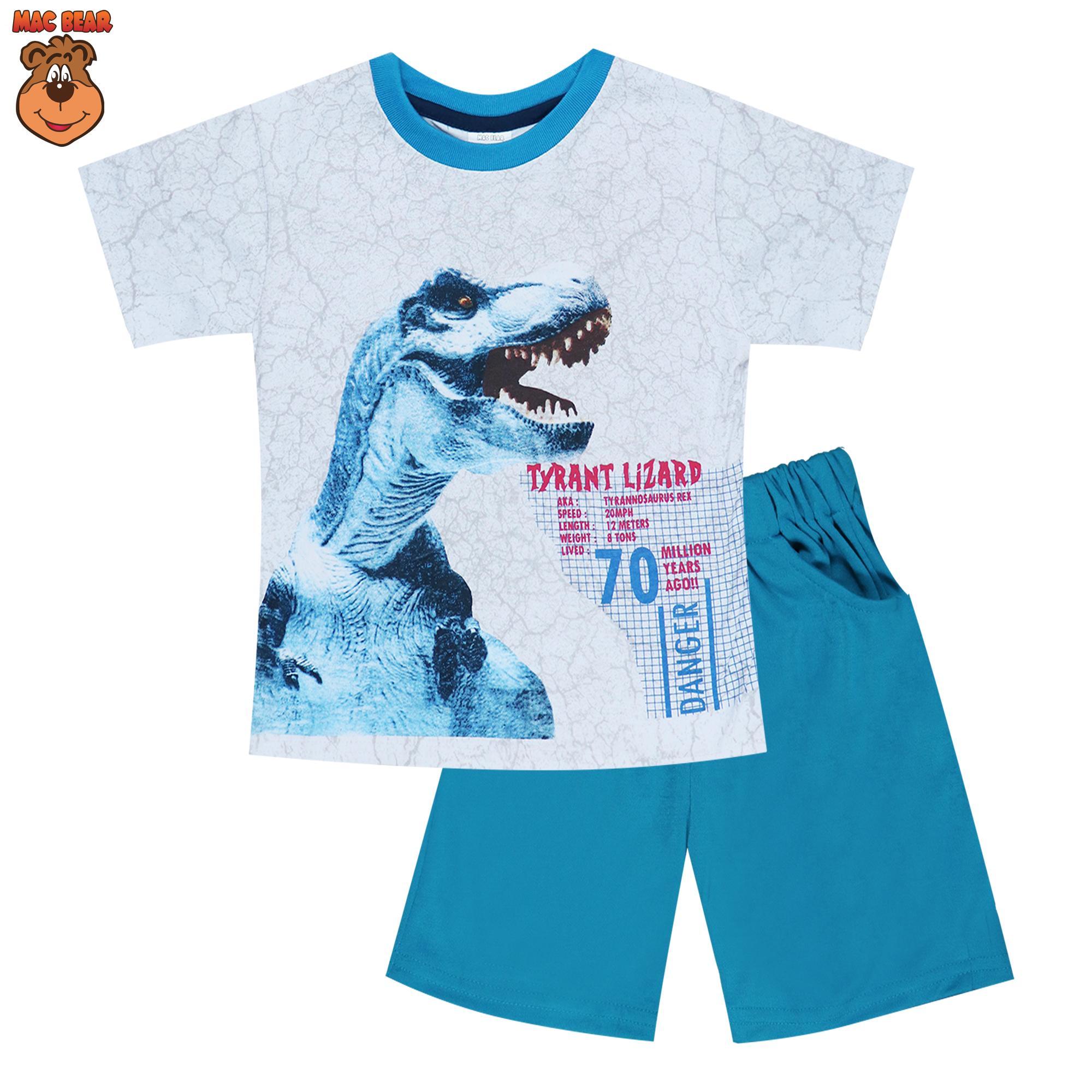 The Cheapest Price Setelan Anak Baju Bola Murah Rp22000 Macbear Kids Polo Little Dino Park Variasi Dasi Size 3 Biru T Rex