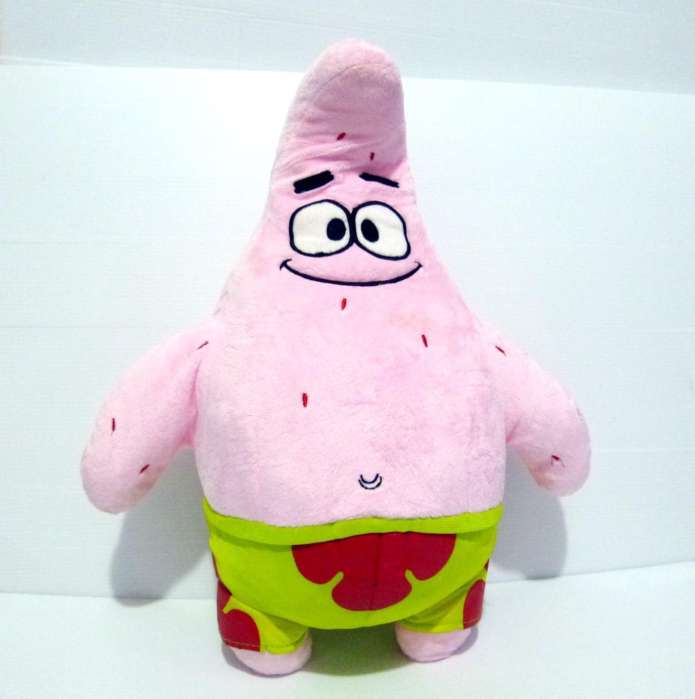 Boneka Patrick Original Nickelodeon Viacom Big Size Patrick Star Spongebob  Squarepants 587b967956