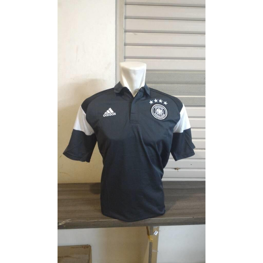 Polo Shirt Jerman Adidas New - Official - Xces0e