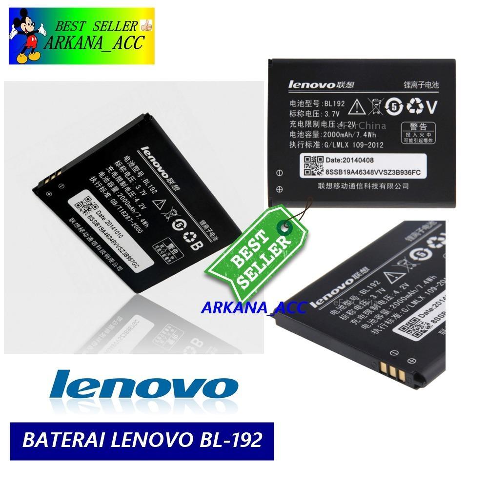 Lenovo Baterai / Battery BL192 For Lenovo A750 / A680 / A526 / A590 / A300 / A529 Original - Kapasitas 2000mAh ( orikabeh )