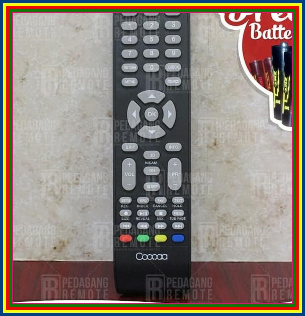 Remot Remote TV Coocaa LCD LED 3D Qlty Super