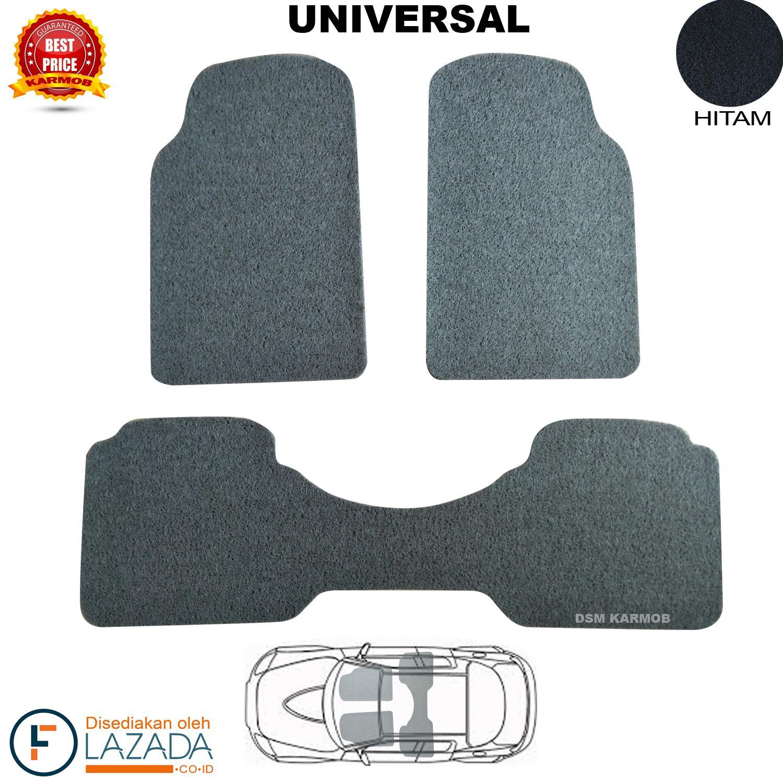 Karmob / Karpet Mobil Mie Universal - HITAM / Karpet Mobil Bihun / Aksesoris Mobil / Karpet Terios