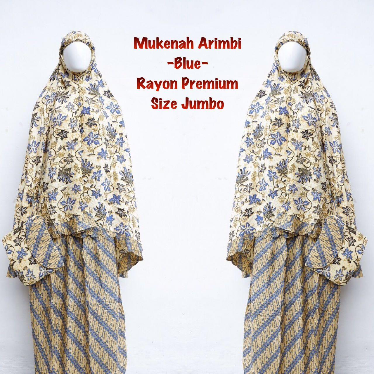 Hot Sale Mukena Batik Arimbi Blue