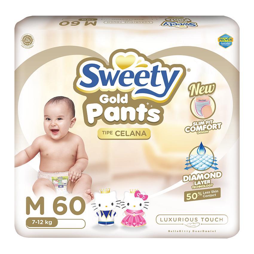 Sweety Popok Gold Pants - M 60