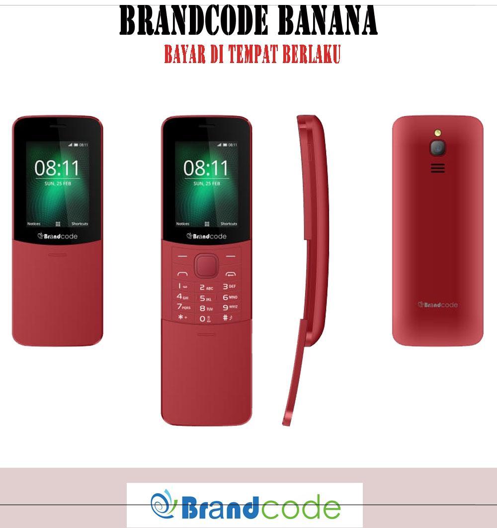 Brandcode B88 Banana - Dual Sim - Garansi Resmi