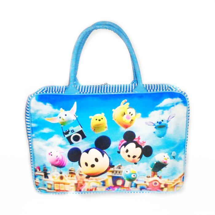 Tas travelbag Tsum tsum kanvas tebal besar koper serbaguna anak dewasa - Tas Anak Keren - Tas Anak Terlaris - Tas Anak Terbaru - Tas Anak Murah