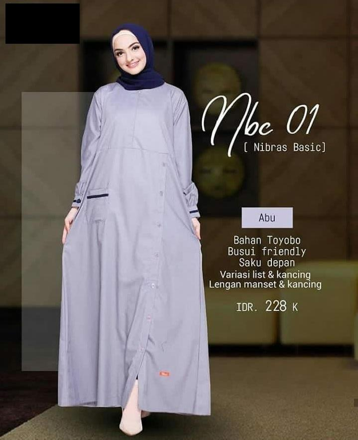 Buy Sell Cheapest Gamis Nibras Terbaru Best Quality Product Deals