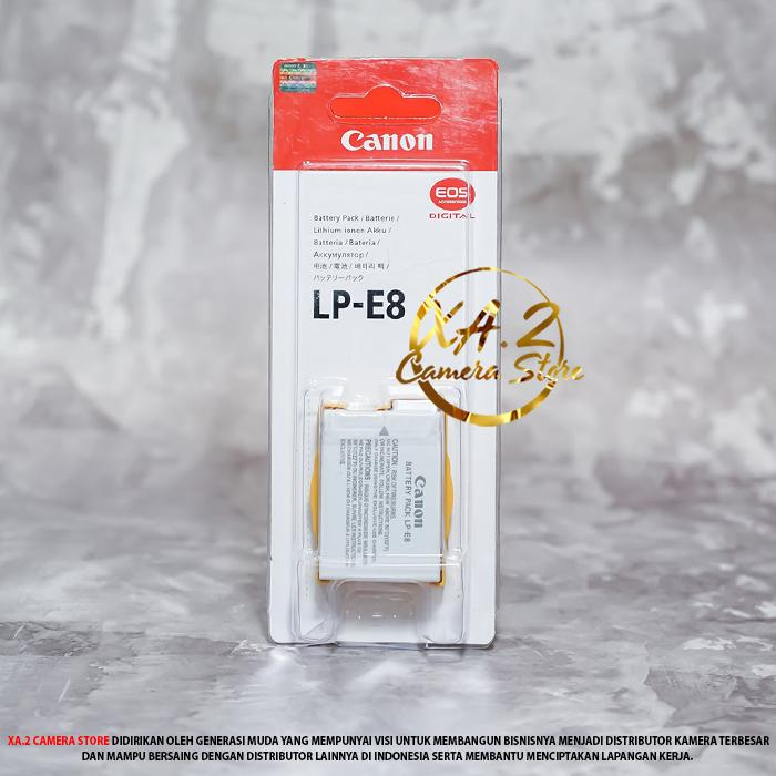 Baterai OEM LP-E8 Untuk Canon EOS 700D 650D 600D 550D REBEL T2i T3i T4i T5i KISS X7i X4 X5 X6