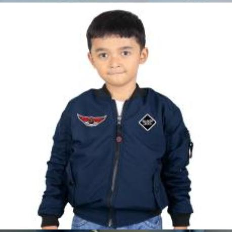 REBEL ID JAKET BOMBER ANAK (6-10 tahun ) warior collection