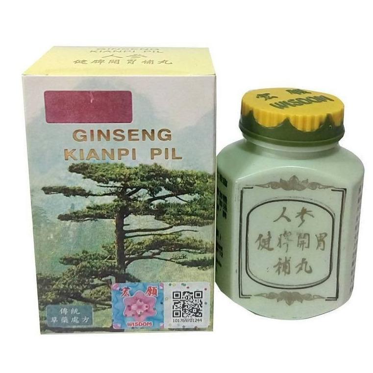 Ginseng Kianpi Pil Original / Obat Herbal Penggemuk Badan 60 Kapsul - 1pcs