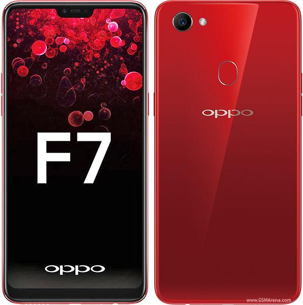 HP OPPO F7 RAM 4 RED/BLACK