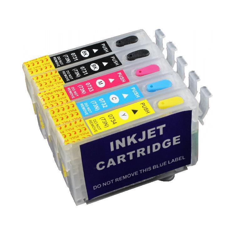 Fast Print Cartridge MCISS Refillable Epson T30 TX510 Kosongan 1 Set