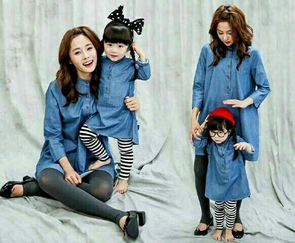 LF Mk Holland, Couple Ibu dan Anak, Baju Wanita