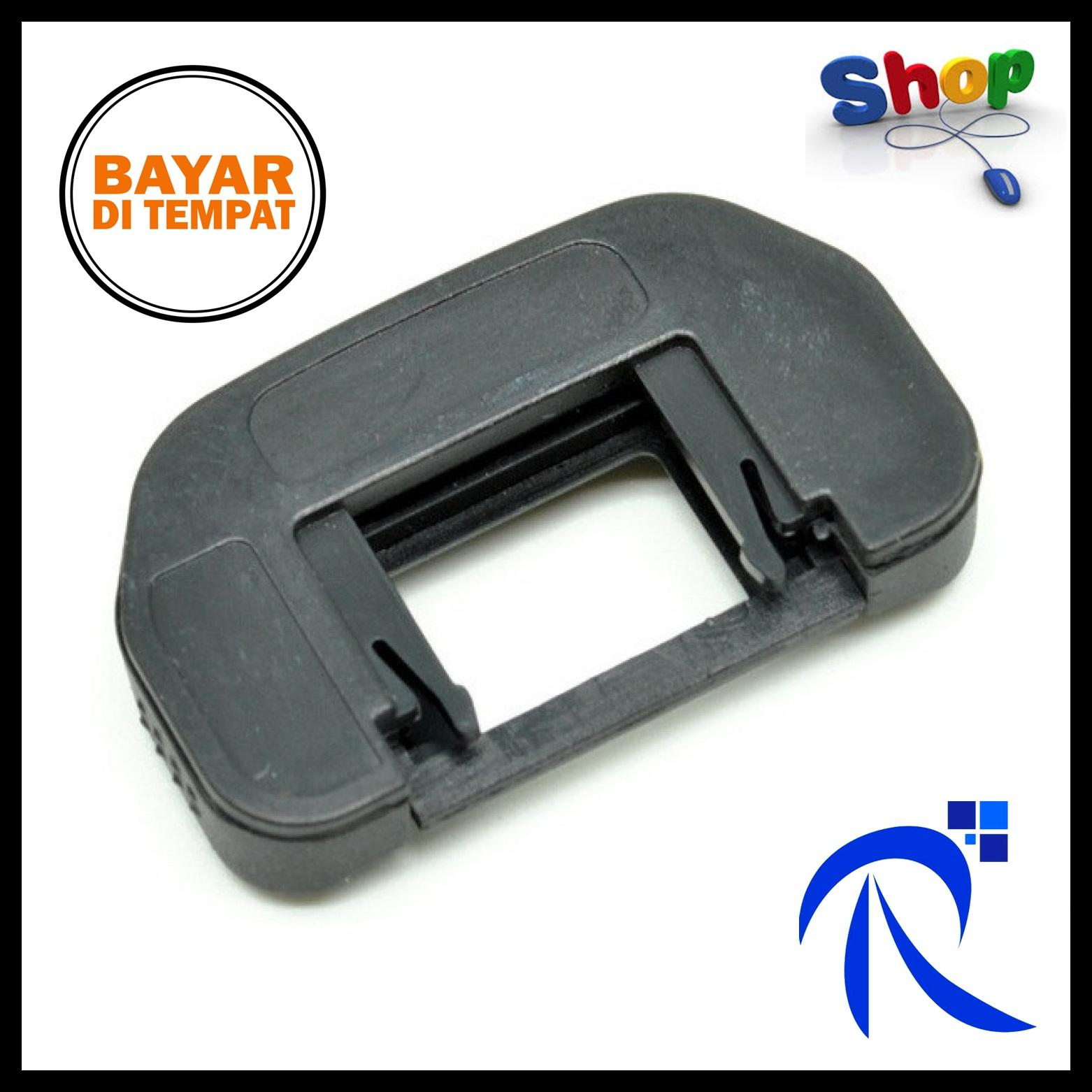 Rimas Eyecup EF for Canon DSLR - Black / Hitam - Karet Pelindung Viewfinder View Finder Eye Cup Area Mata Kamera Camera Berkualitas FREE ONGKIR