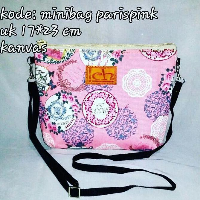 Minibag Paris Pink