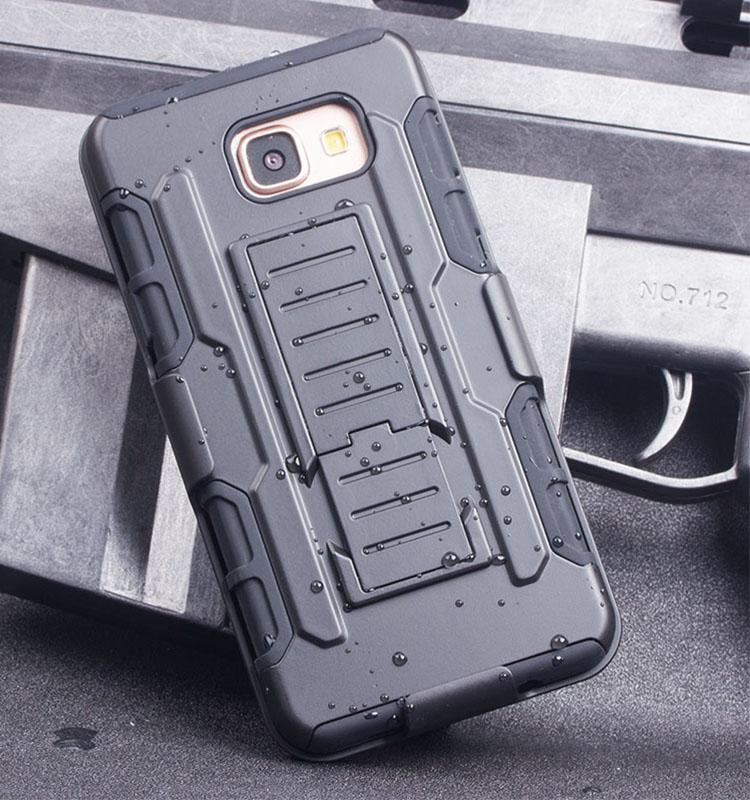 FUTURE ARMOR Case Samsung Galaxy J7 Prime Softcase Hardcase Casing Full Cover Belt Clip Anti Shock