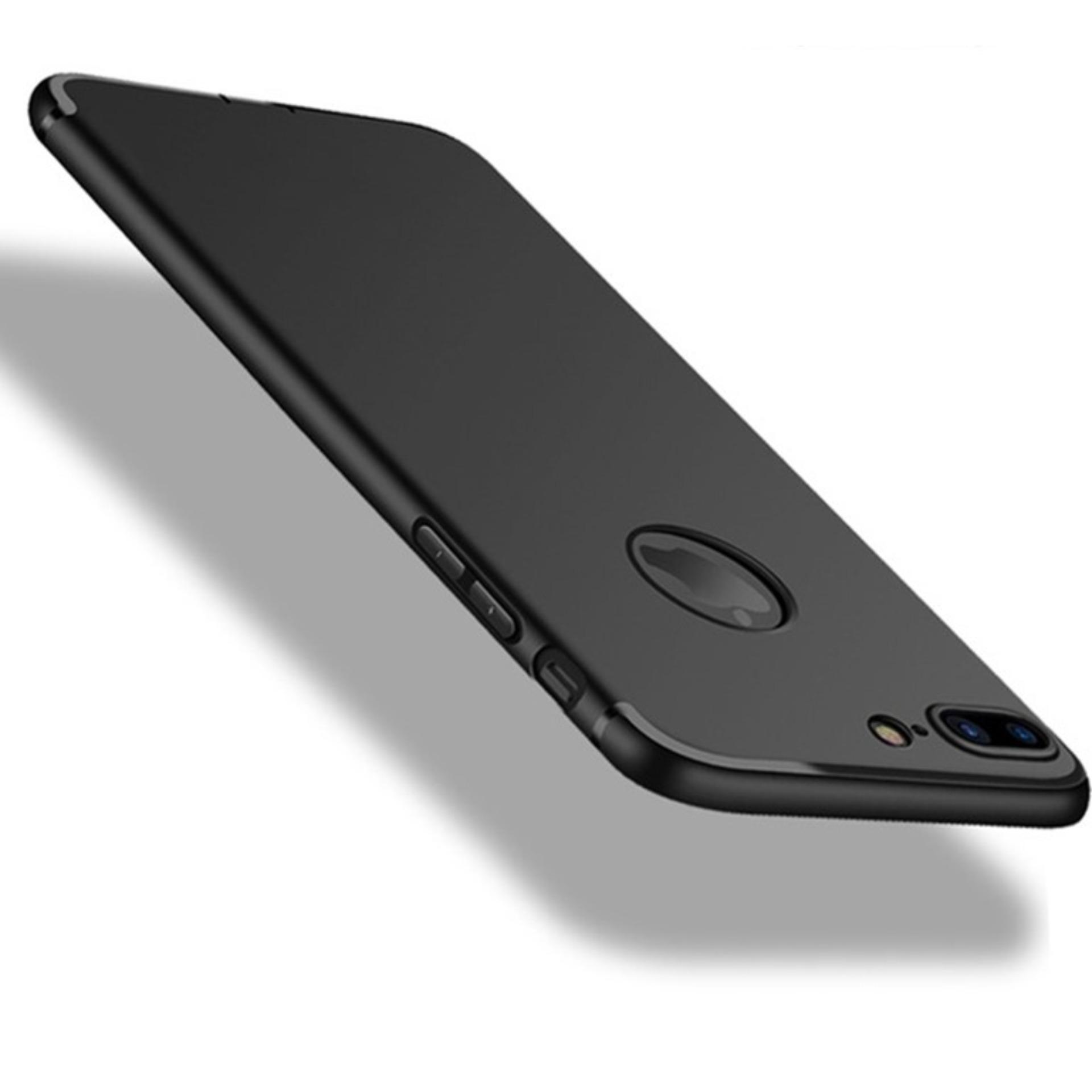 Case Ultra Thin Soft TPU Black Silicone Matte Frosted Anti-fingerprint Back Cover For Iphone 7 Plus