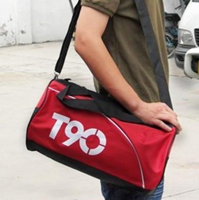 Tas olahraga fitness travel jalan sporty T90 mirip Nike murah - FAP003 - Biru Tua