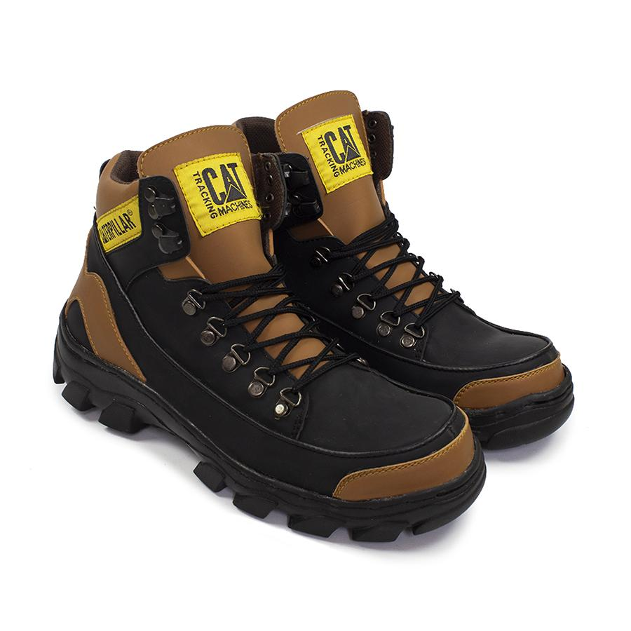 CATERPILLAR ARGON MBC Sepatu Pria Delta Boots Safety Work's Trendy Tracking Touring